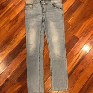 Calvin Klein slim light wash jeans